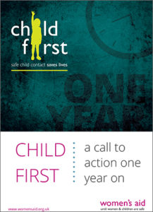 Child First: A Call To Action One Year On
