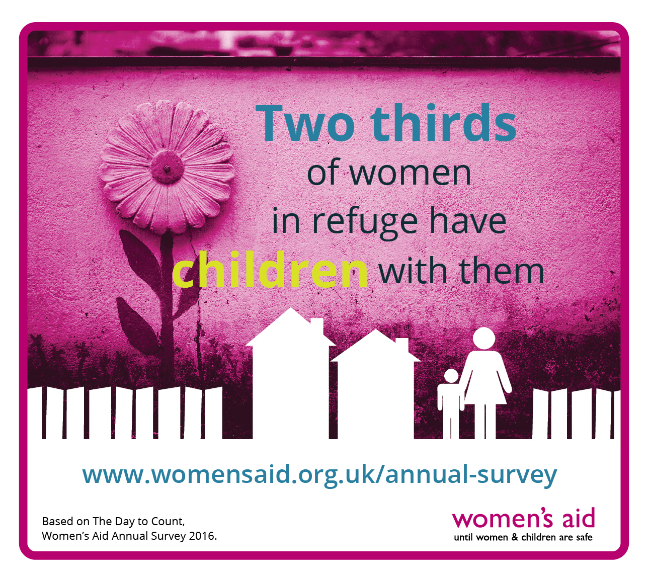 'Two thirds of women in refuges have their children with ...