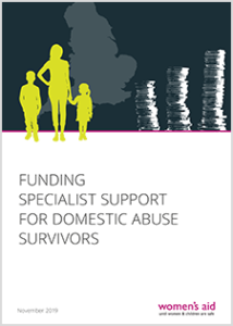 Funding specialist support for domestic abuse survivors
